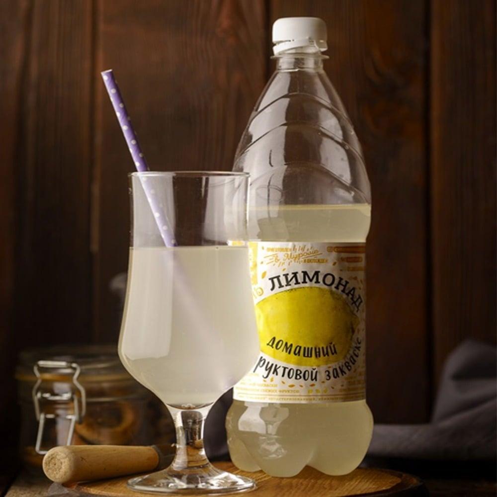 Печать круговых этикеток для лимонада